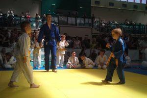 Walka judo.