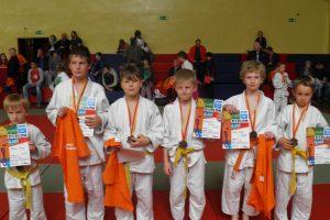 Nasi reprezentanci na turnieju judo we Wrocławiu.